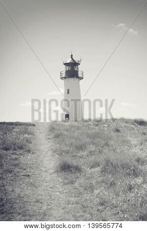 Lighthouse List West, Ellenbogen, Sylt, Schleswig-Holstein Germany 2016