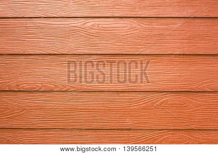 Brown wood plank wall texture background .