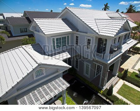 House Roofs tiles new styles and colors
