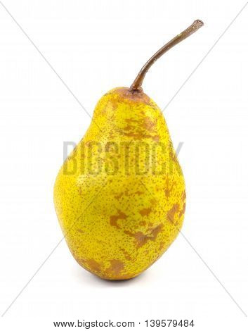 Pear isolated on a white background, fruit.
