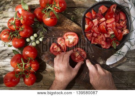 Red Round Smooth Tomato