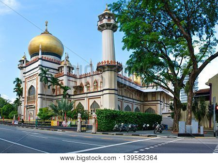 Masjid Sultan, Singapore Mosque