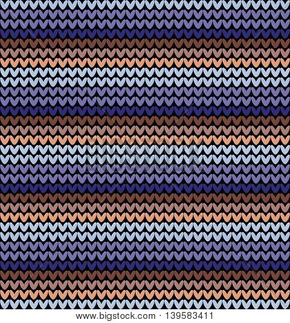 Seamless knitted background. Knitted colorful seamless pattern. Multicolor knitting abstract background.