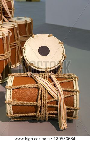 Traditional drum used in Arabic folk music, Bahrain