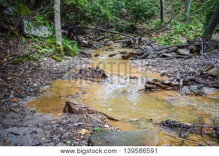Acid Mine Drainage in the Appalachian Mountain Region.