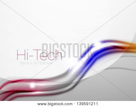 Swirl abstract background. blur waves
