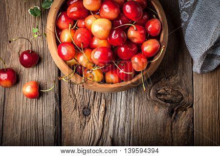 Freshly Harvested Cherrie.