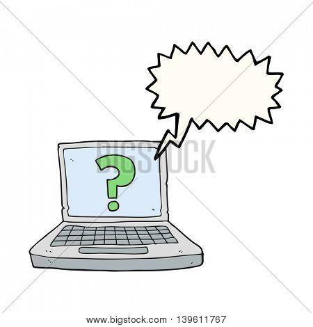 freehand drawn speech bubble cartoon internet search