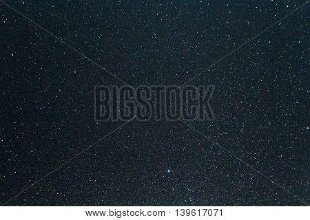 Night Sky With Lot Of Shiny Stars, Milky Way