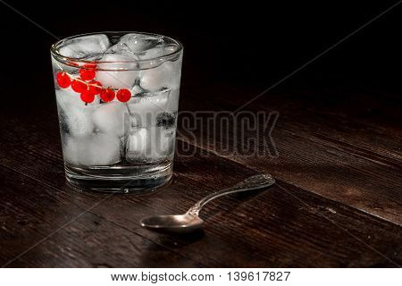 Refreshing Cocktail On The Table