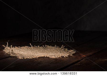 Sackcloth On The Wood