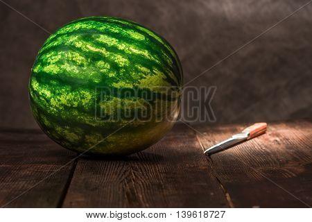 Melon On The Table