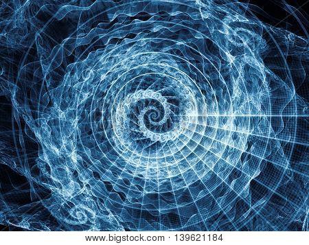 Visualization Of Spiral Pattern