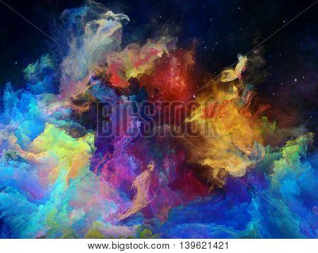 Memories Of Space Nebula