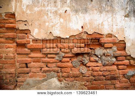 The Vintage Grunge Brick Wall Background