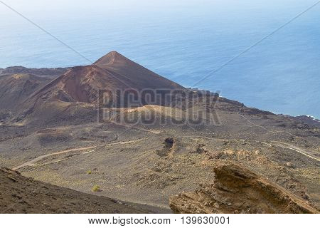Coastline Of Volcanic Island Las Palmas At Canary Islands
