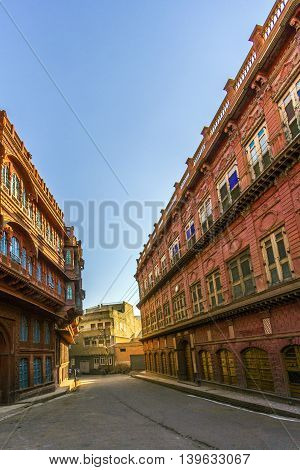 Beautiful Old Haveli In Bikaner