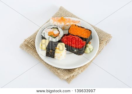Sushi.  Japanese Food In Thailand