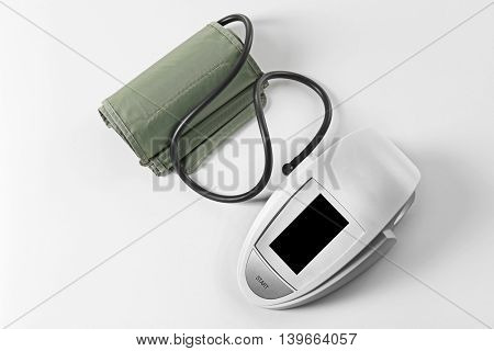 Tonometer, isolated on white