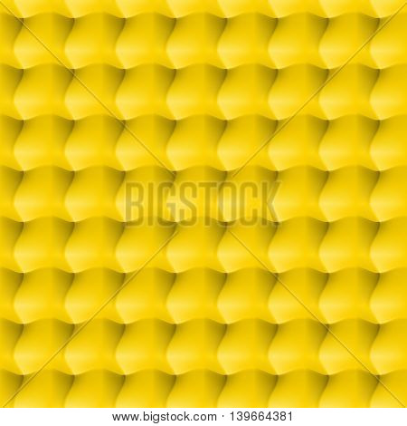 Seamless abstract background. Surround relief in the yellow colour