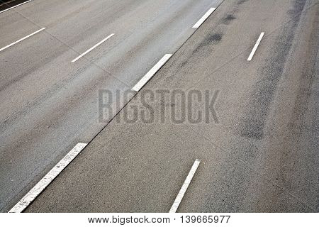Highway Without Car
