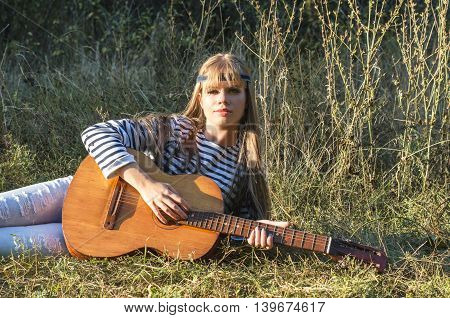 Hippie-style Girl
