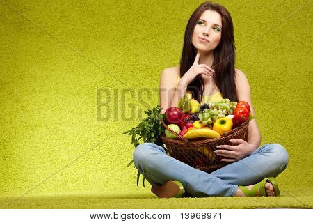 fruits and vegetables shopping