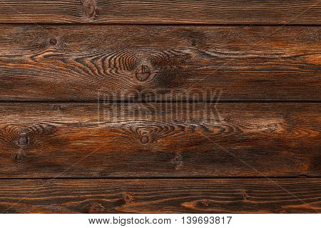 Wooden background with copyspace brown striped timber desk old table or floor