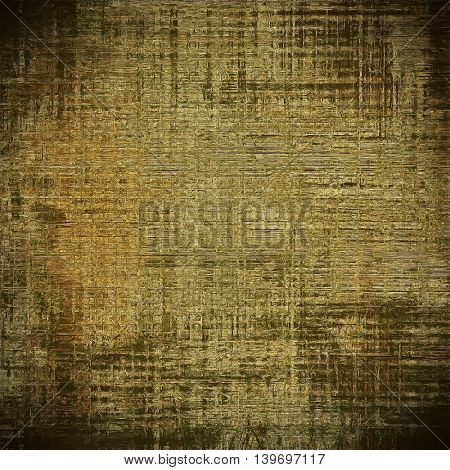 Veined grunge background or scratched texture with vintage feeling and different color patterns: yellow (beige); brown; gray; black