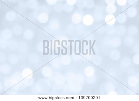Abstract light bokeh circles for festive background