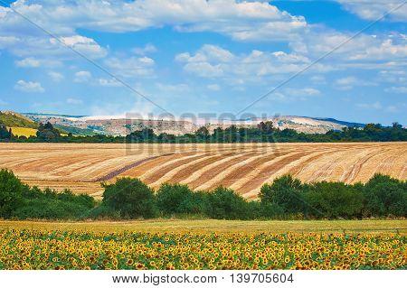 Agricultural Fields near Devnya Varna Province Bulgaria