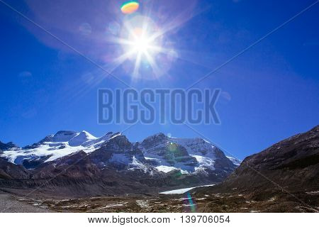 Columbia Icefield, Rocky Mountains, Alberta, Canada