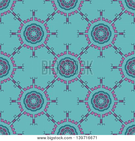 Vector seamless tribal Navajo pattern. Aztec grunge abstract geometric art print. Ethnic hipster backdrop. Fa