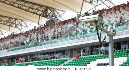 security-camera  on stadium