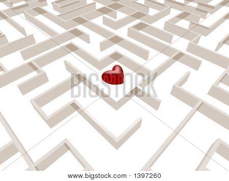Laberinto de corazón