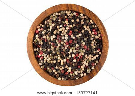 Bowl Of Various Pepper