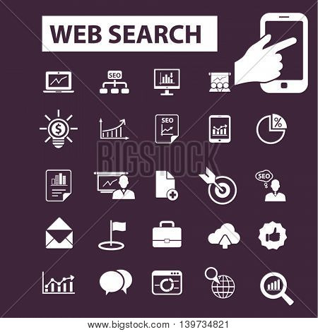 web search icons