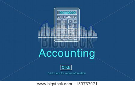 Accounting Business Credit Economy Icon Concept