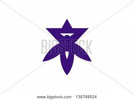 Japan Osaka prefecture Takatsuki city flag illustration