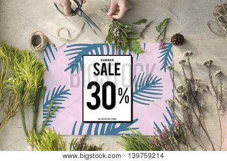 Sale Shopping Discount Promotion Consumer Concept
