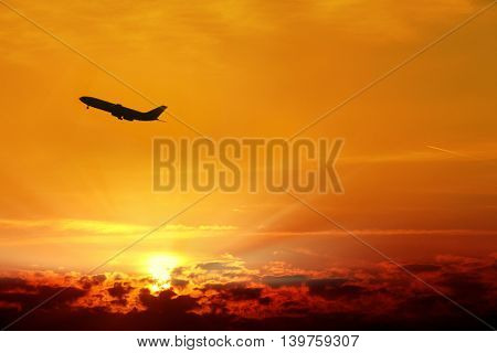 an image of an airplane