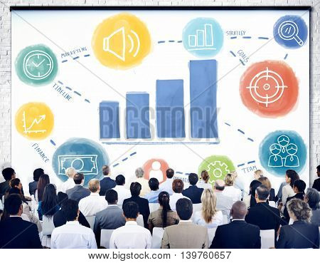 Business Seminar Learning Growth Concept