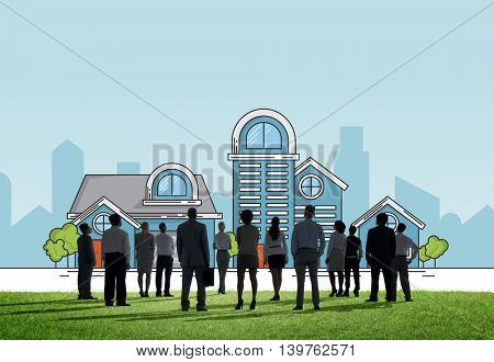 Houses Apartment Cottage Property Residence Concept