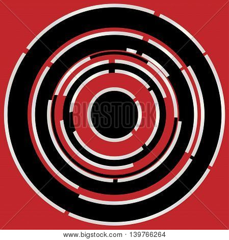 A circular maize style abstract background image