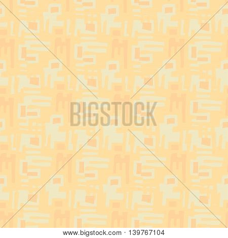 orange seamless background for website vector illustration