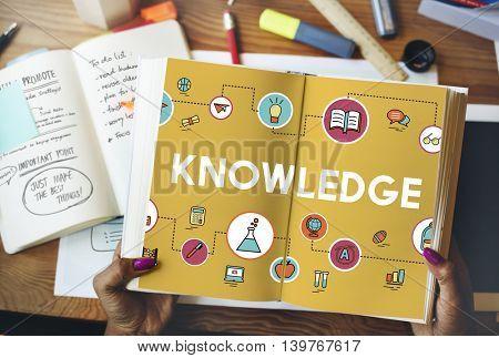 Academic Knowledge Improvement Class Experiment Concept