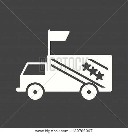 Election, vehicle, rally icon vector image.Can also be used for elections. Suitable for web apps, mobile apps and print media.