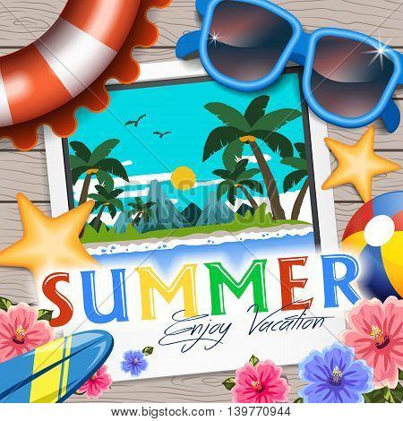 Delightful Summer Poster