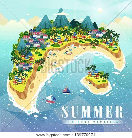 Attractive Summer Poster