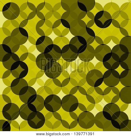 Vector circle modern geometrical abstract background. EPS